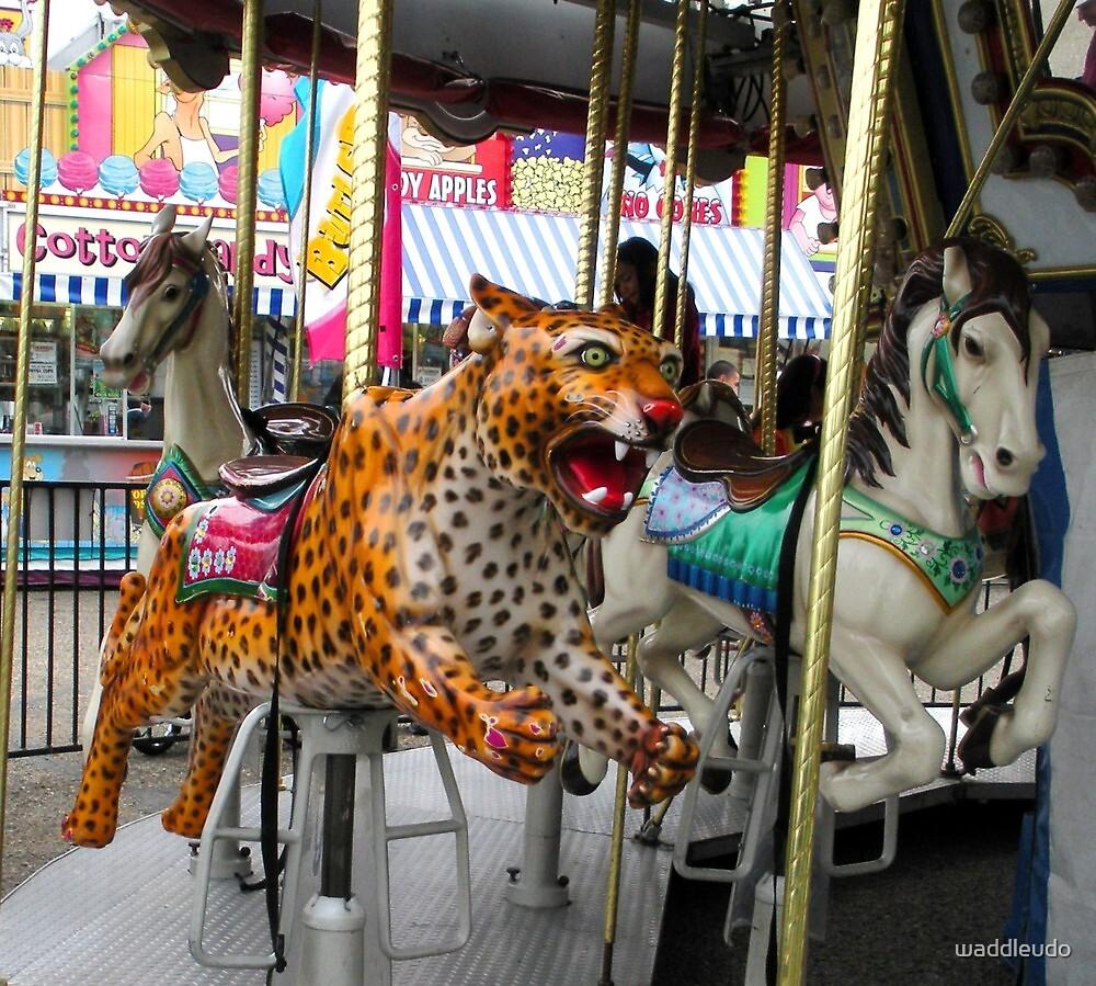 """ Ready, Set GO! ""   Carnival Ride by waddleudo"