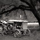 The Old Oliver Tractor by JimBremer