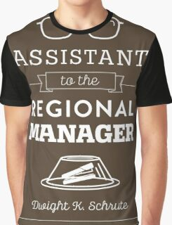 The Office Dunder Mifflin - Assistant to the Regional Manager Graphic T-Shirt