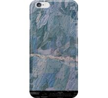 USGS Topo Map Washington State WA Prescott 20110404 TM Inverted iPhone Case/Skin