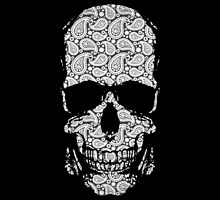 Day of the Dead - Paisley Skull by MikeTheGinger94