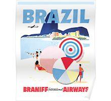 Braniff Brazil 1 Poster