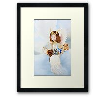 wishes from heaven Framed Print