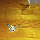 Making A Sparkly Necklace by Bearie23