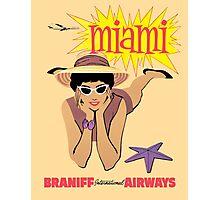 Braniff Miami Photographic Print