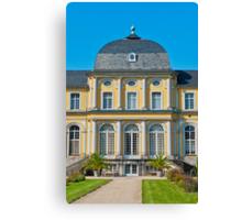 Castle Poppelsdorf Canvas Print