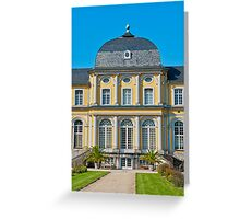 Castle Poppelsdorf Greeting Card