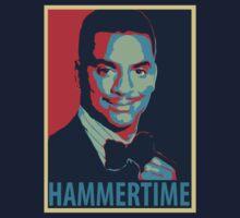 HAMMERTIME - Carlton Banks Political Poster by Dope Prints
