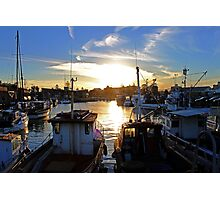 The Harbour -Wollongong- Photographic Print
