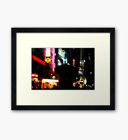 """NYE"" Framed Print"