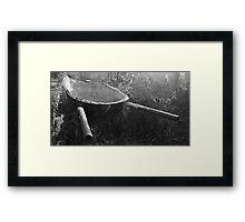 Wheelbarrow Framed Print