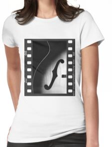 Vintage Harmony Guitar Womens Fitted T-Shirt
