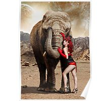 Elephants & Showgirls Poster