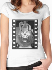 Rusty Resonator Women's Fitted Scoop T-Shirt