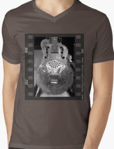 Rusty Resonator Mens V-Neck T-Shirt