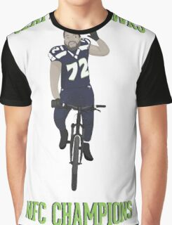 Michael Bennett Does a Victory Lap Graphic T-Shirt