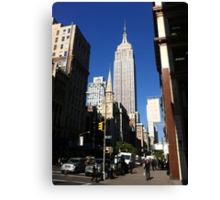 Empire State Building New York City Canvas Print