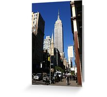 Empire State Building New York City Greeting Card