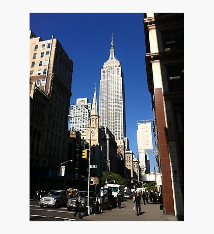 Empire State Building New York City Photographic Print