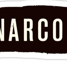 Narcos - Black Sticker