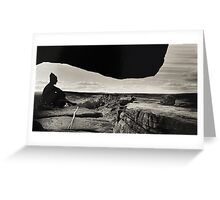 Gritstone Climber Greeting Card