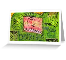 Self-Assurance Greeting Card