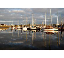 Light On The Harbour Photographic Print