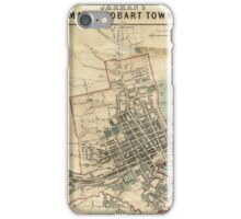 Jarman's Map of Hobart iPhone Case/Skin
