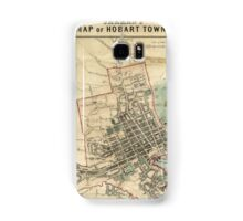 Jarman's Map of Hobart Samsung Galaxy Case/Skin