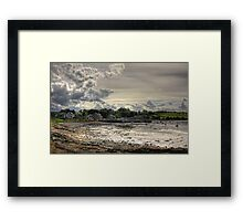 Clouds over Blackness Framed Print