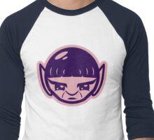 Spocky Pink and Purple Men's Baseball ¾ T-Shirt