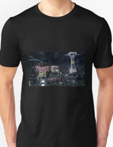 Fallout New Vegas Strip (Night) T-Shirt