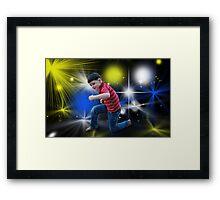 X-Factor Framed Print