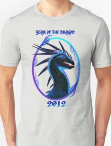 2012-Horned Black Dragon  T-Shirt