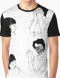 Shintaro – Peek-a-boo Graphic T-Shirt