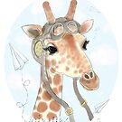 Giraffe by nearsightedowl