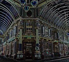 Leadenhall Market London Digital art by DavidHornchurch