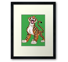 Tiger! Framed Print