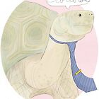 Tortoise by nearsightedowl