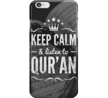 Keep Calm Quran iPhone Case/Skin