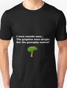Gamer, black tee Unisex T-Shirt