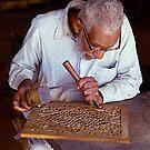 Furniture maker, Peshawar, Pakistan. by johnrf