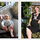2011 Kath 8 months; Robin & Archie by Kath Cashion