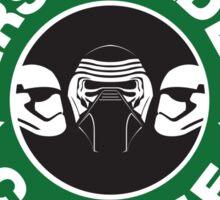 First Order Coffee Sticker