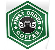 First Order Coffee Poster