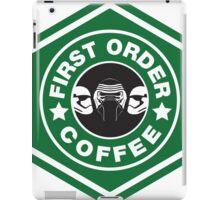 First Order Coffee iPad Case/Skin