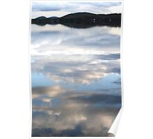 Reflecting Clouds Poster