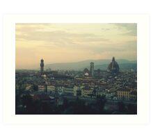 View of Firenze Art Print