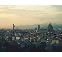 View of Firenze Photographic Print