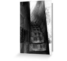 Pisa Stairway Greeting Card